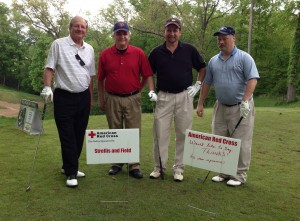 Strellis & Field sponsors a Red Cross Golf Event at Mystic Oak Golf Club