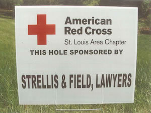 Strellis & Field sponsors the 2014 American Red Cross Golf Event held at Annbriar Golf Course in Waterloo, Illinois